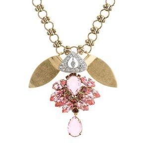 Lulu Frost for J. Crew Crystal Pendant Necklace